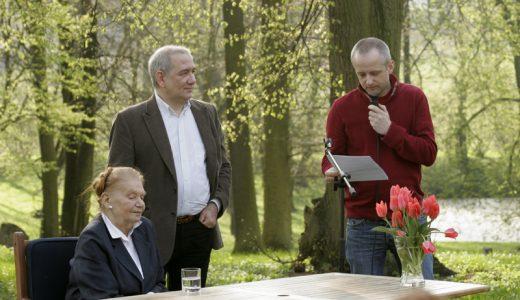 Julia Hartwig, Tomasz Fiałkowski, Paweł Próchniak Fot. Grzegorz Kozakiewicz